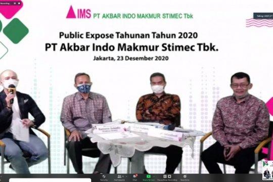 Emiten batu bara AIMS optimistis tatap 2021usai lepas dari suspensi