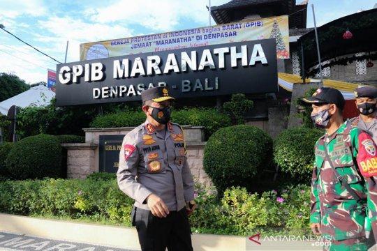 Polda Bali siagakan ribuan personel jaga kebaktian dan misa Natal
