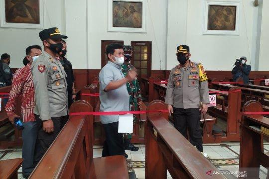 Polisi cek gereja di Bandung pastikan protokol kesehatan diterapkan