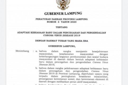 Lampung terapkan denda Rp1 juta bagi pelanggar protokol kesehatan