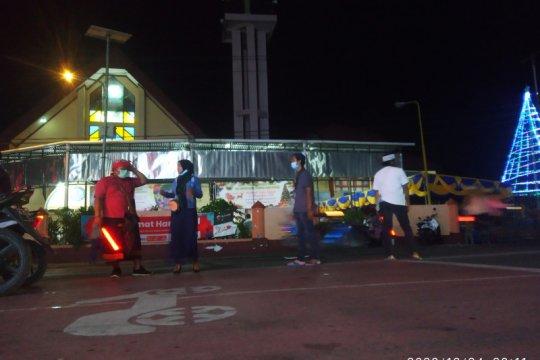HMI bantu kawal ibadah malam Misa Natal di Manokwari