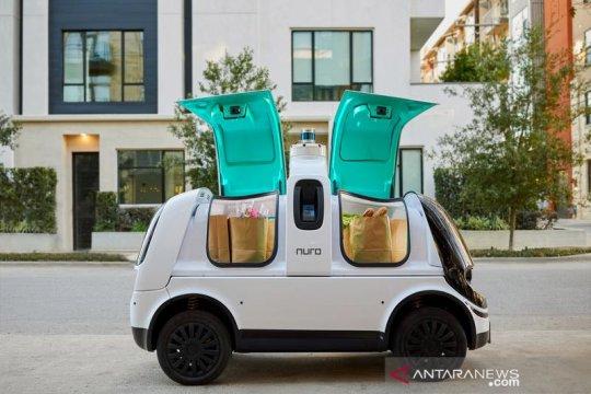 Nuro dapat izin operasikan angkutan kendaraan otonom