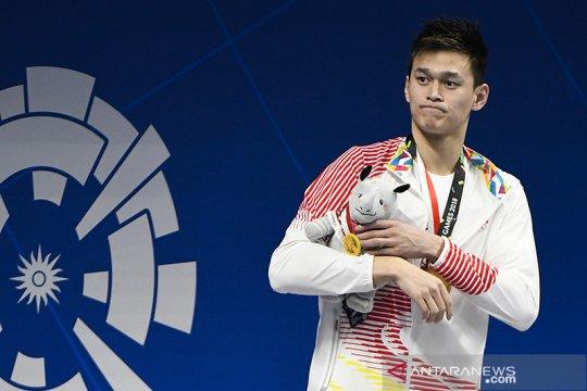 Sun Yang lewatkan Olimpiade Tokyo setelah disanksi CAS empat tahun