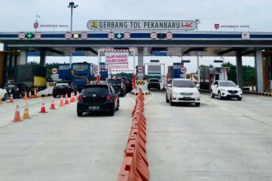 Hari pertama libur Natal, 80 ribu kendaraan lintasi Tol Trans Sumatera