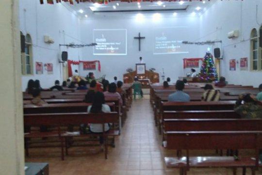 Malam Misa Natal di Rangkasbitung terapkan protokol kesehatan