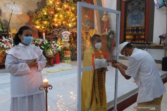 Perayaan Natal di Bali patuhi protokol kesehatan