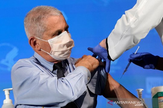 Dr.Fauci : Infeksi corona di AS kemungkinan stabil