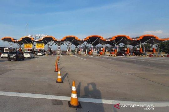30 GTO di gerbang Tol Cipali dibuka antisipasi kepadatan arus