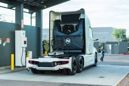 Nikola batal kembangkan truk sampah tenaga listrik