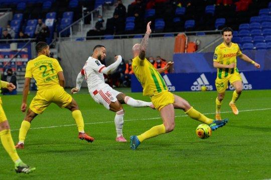 Klasemen Liga Prancis pekan ke-17: Lyon akhiri 2020 sebagai pemuncak