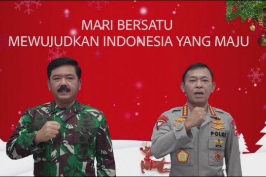Rayakan Natal, Panglima TNI dan Kapolri minta jaga persatuan bangsa