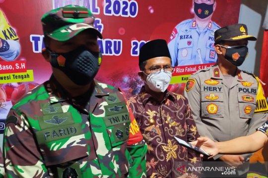 TNI di Sulawesi Tengah bantu pengamanan Natal-Tahun Baru