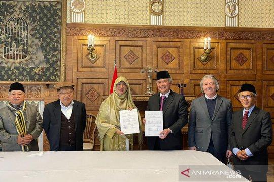 JK saksikan penandatanganan kerja sama antara KBRI Kabul dan Tazkia