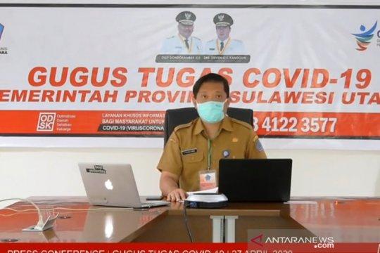 Angka kesembuhan pasien COVID-19 di Sulut capai 71,54 persen