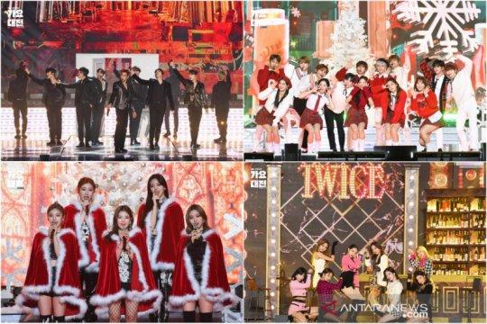 Penampilan spesial grup K-pop meriahkan SBS Gayo Daejeon 2020