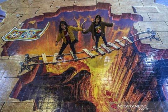 Wisata museum Magic Art 3D di Kota Tua Jakarta