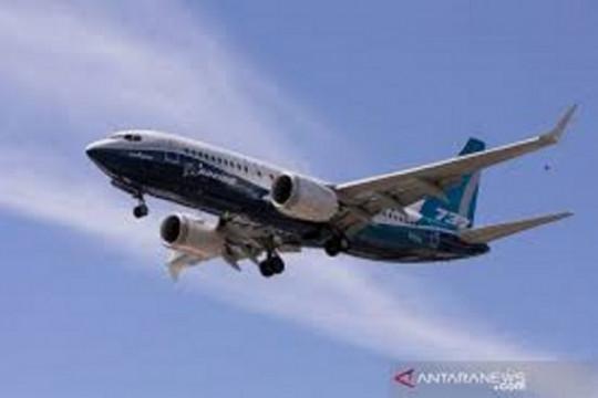 Pesawat uji Boeing 737 MAX terbang di China