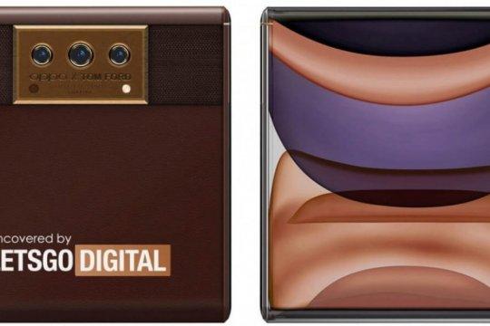 Desain ponsel layar gulung Oppo X Tom Ford terungkap