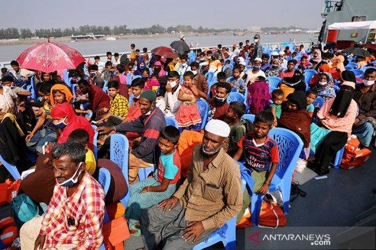 Bangladesh akan pindahkan lagi pengungsi Rohingya ke pulau terpencil