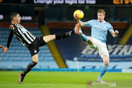 Liga Inggris : Manchester City tekuk Newcastle 2-0