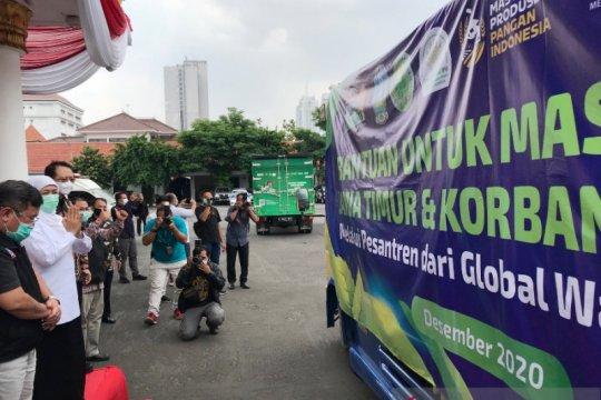 Global Wakaf ACT-YP3I salurkan bantuan untuk Jatim melalui pesantren