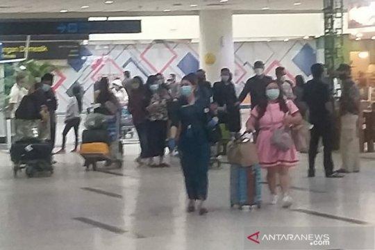 Penumpang mudik di Bandara Kualanamu cukup ramai, capai 10.761 orang