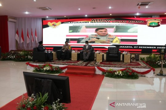 Kapolda Metro Jaya menggelar silaturahmi lintas agama