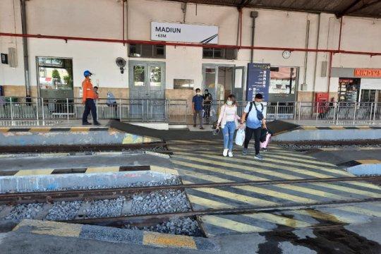 KAI Daop Madiun layani 79.665 penumpang selama libur Natal 2020