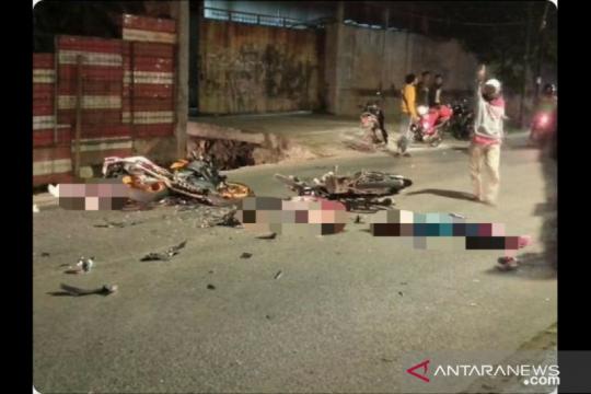 Motor terlibat adu banteng di Kapuk akibatkan satu pengendara tewas