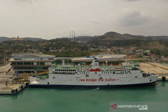 H+1 Natal, ASDP catat 344.000 penumpang lintasi Merak-Bakauheni