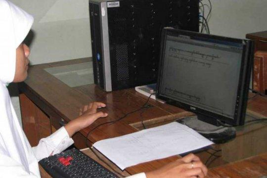 Amrih, pelopor digitalisasi aksara Jawa di Yogyakarta