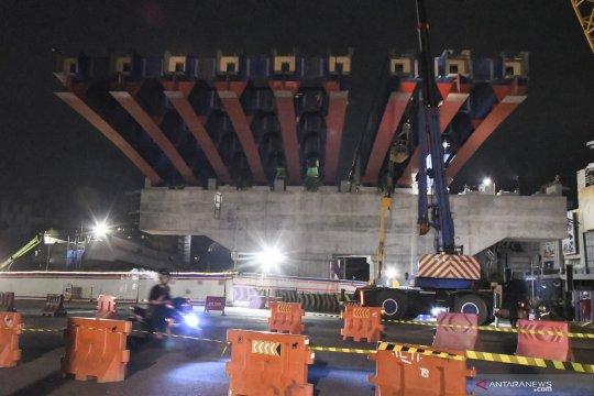 Meski pandemi, pemerintah pastikan proyek infrastruktur tetap jalan