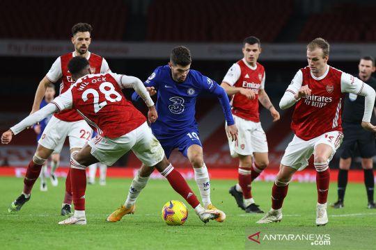 Liga Inggris: Arsenal menangi derby London atas Chelsea