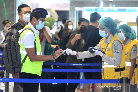 Menparekraf tinjau protokol kesehatan Bandara Ngurah Rai