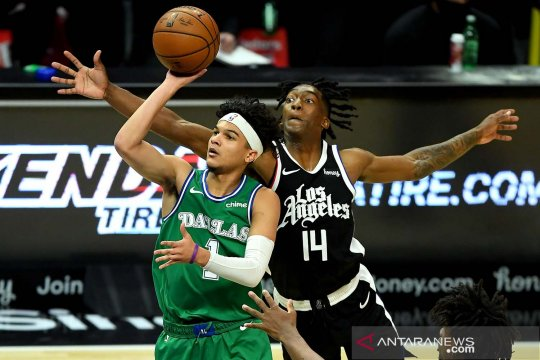 NBA: Dallas Mavericks kalahkan Los Angeles Clippers 124-73
