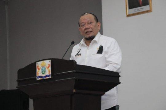 Ketua DPD berharap pembangunan rel KA di Kalteng dimulai 2021
