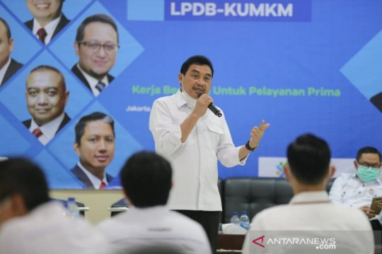 LPDB: Dana bergulir KUMKM tersalur Rp1,9 triliun sepanjang 2020