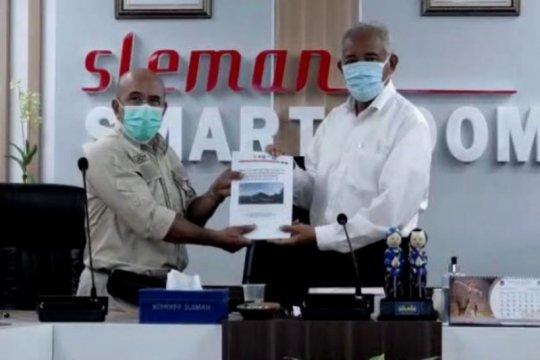 Sleman sahkan rencana kontingensi erupsi Gunung Merapi sesuai prokes