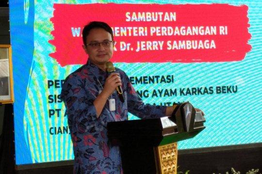 Wakil Menteri Perdagangan resmikan SRG ayam karkas di Cianjur
