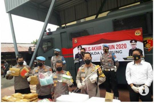 Sebanyak 28 polisi di Lampung dipecat selama 2020
