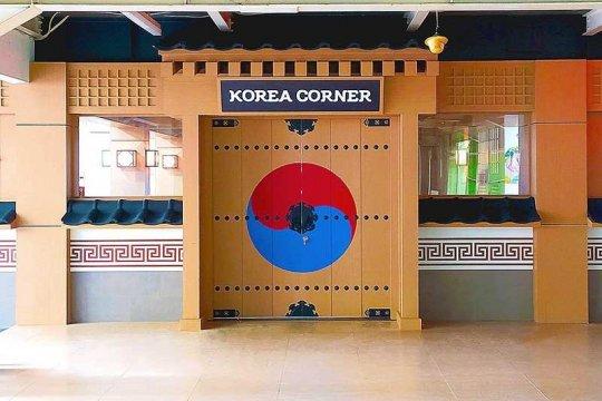 """Korea Corner berkonsep """"Hanok"""" dibuka di Universitas Nasional"""