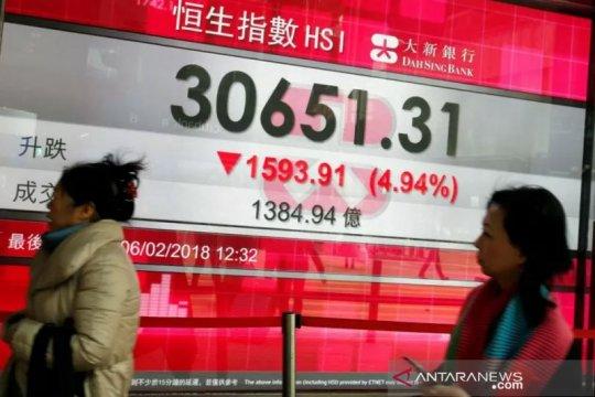 Saham Hong Kong ditutup 1,01 persen lebih tinggi