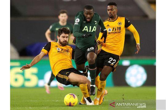 Tottenham Hotspur bermain imbang 1-1 lawan Wolverhampton Wanderers