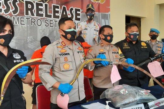 Tiga pelaku tawuran yang tewaskan satu orang di Setiabudi ditangkap