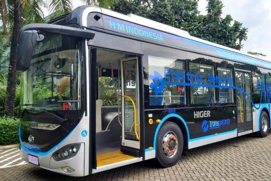 Swasta sediakan bus listrik dukung transportasi TransJakarta
