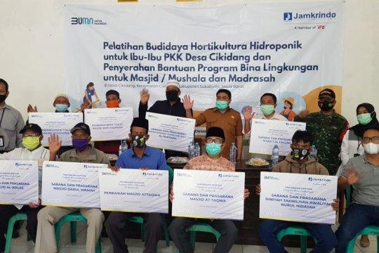 Jamkrindo perluas pemberdayaan masyarakat di Sukabumi