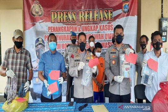 Pembunuhan anak di Banjarmasin berlatar prostitusi online