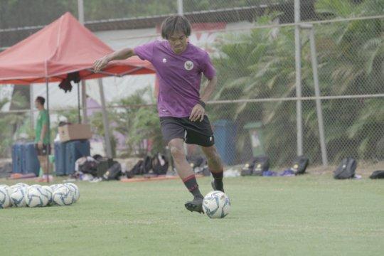 Shin Tae-yong tekankan daya tahan tubuh dalam latihan timnas U-23