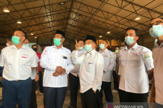 Jusuf Kalla: 'Kalau tidak mau terjangkit COVID-19 ya vaksinasi'