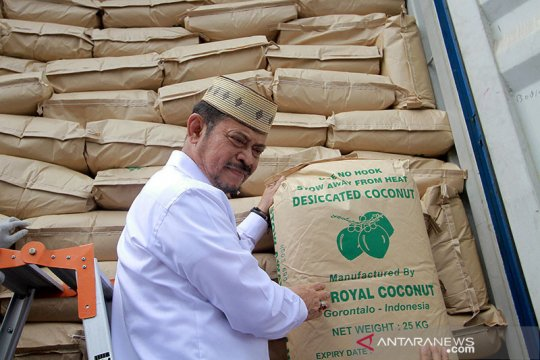 Sulut ekspor tepung kelapa ke Israel